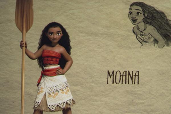 'Moana' lidera taquilla en EU