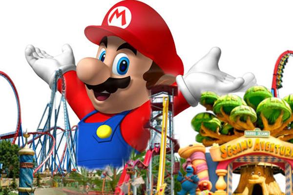 Nintendo llegará a los parques de Universal