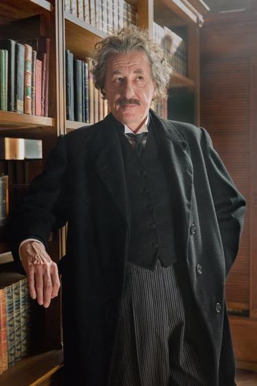 Geoffrey Rush es Albert Einstein