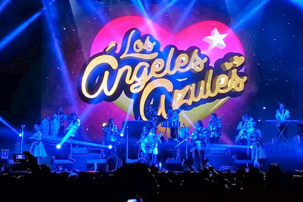 Los Ángeles Azules recibirán 2017 cantando