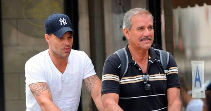 Padre de Ricky Martin sufre derrame cerebral