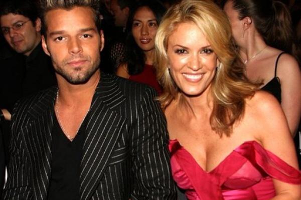 Rebecca de Alba estuvo embarazada de Ricky Martin
