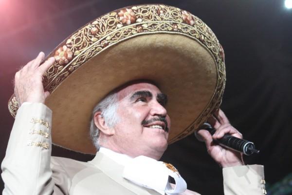 Vicente Fernández nominado al Grammy