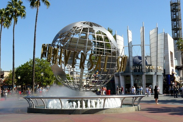 Estudios Universal Hollywood a tope