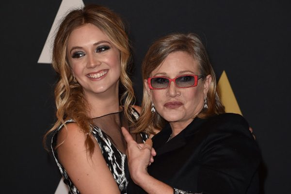 Billie Lourd heredará 7 MDD