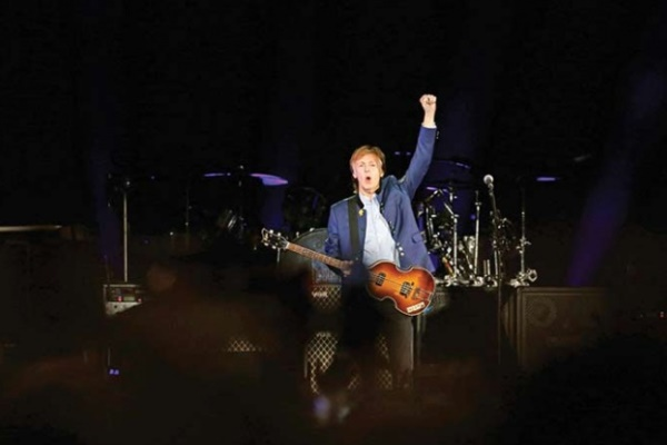 Paul McCartney conquista el Azteca