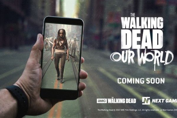 Realidad aumentada con The Walking Dead: Our World