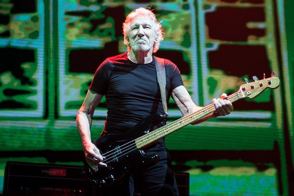 Montevideo aplaude a Roger Waters