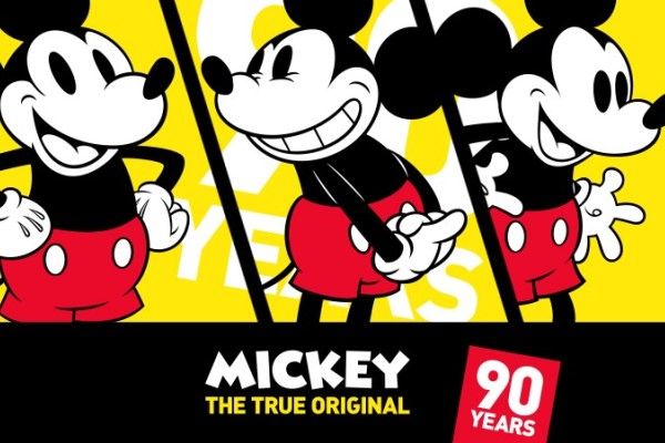 Mickey Mouse cumple 90