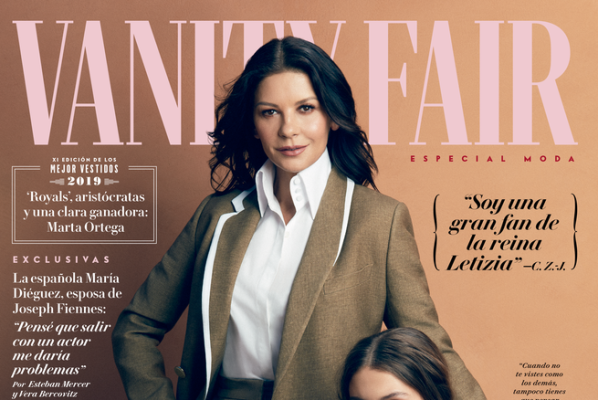 Catherine Zeta-Jones en portada