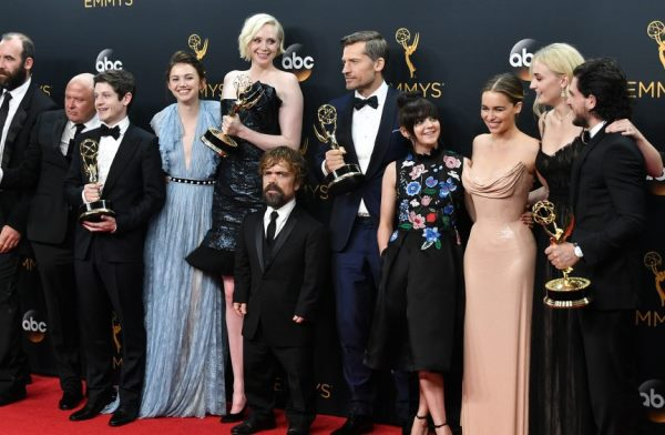 Elenco de Game of Thrones en los Emmys