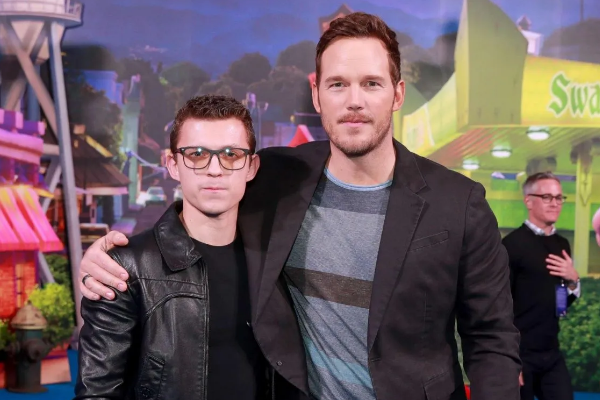 Tom Holland y Chris Pratt están Unidos